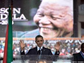 President Obama Calls for International Queer Rights in Mandela Euolgy