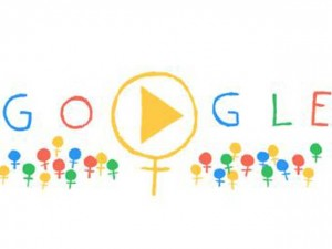 IWD Google Doodle